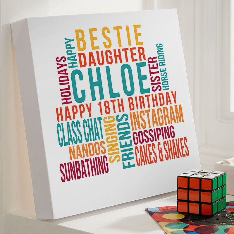Personalized 18th Birthday Gifts