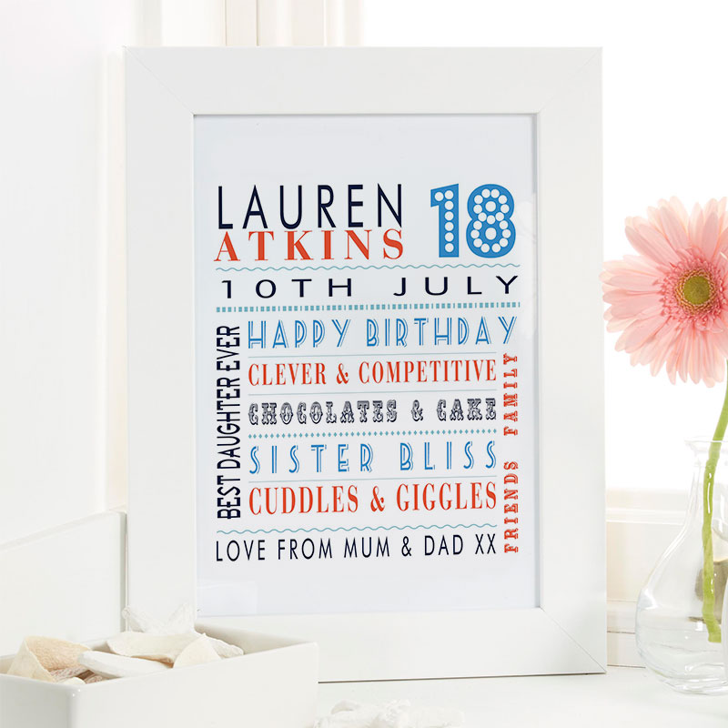 birthday gift ideas for 18 year old girl