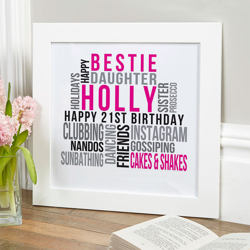 21st Birthday Personalized Gift Ideas For Her