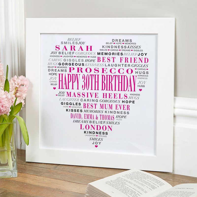 Gift Ideas For Her 30th Birthday