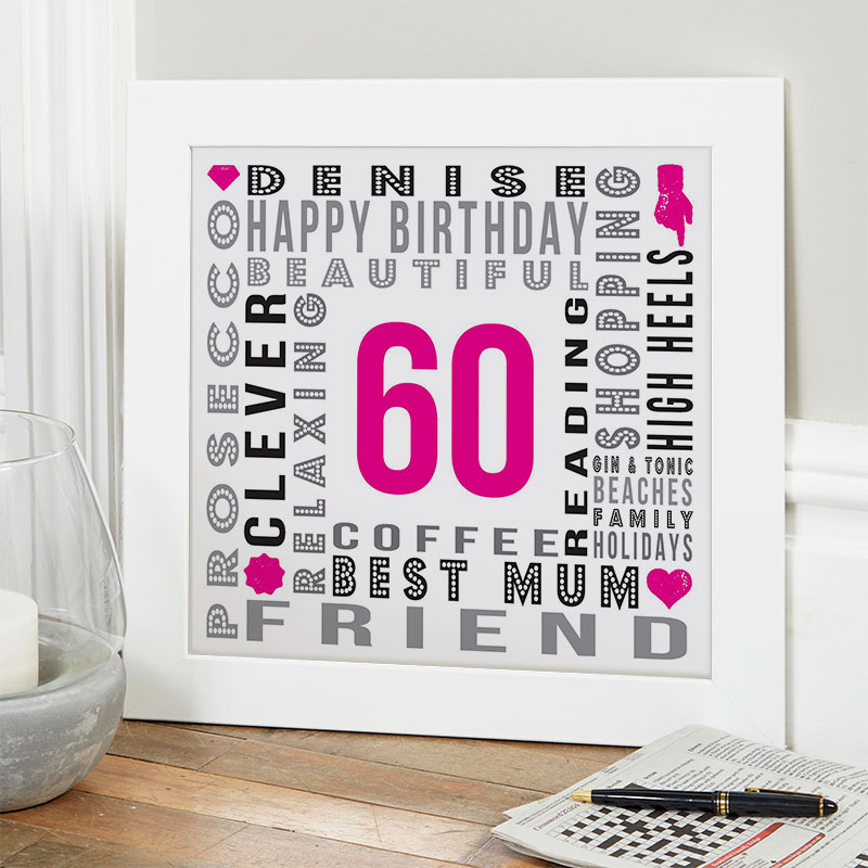 Cool Gift Ideas For Mom 60th Birthday Horiaco