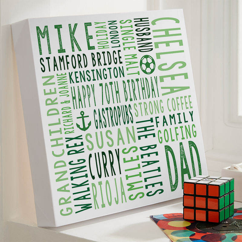 70th Birthday Personalized Unique Gifts For Him