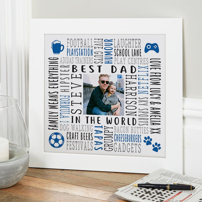 gift ideas for him photo wall art