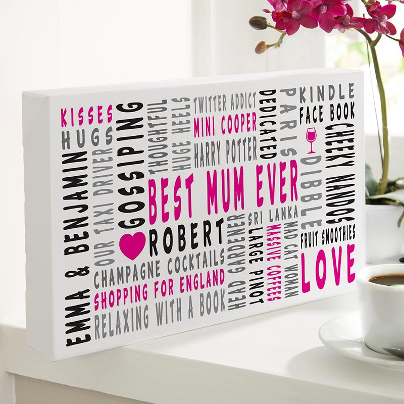 custom typographic prints canvases word art for walls