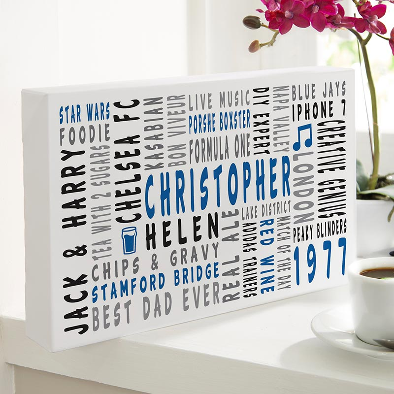 personalized print word art