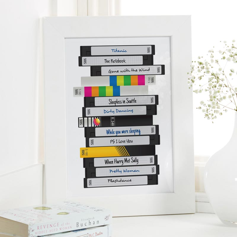 personalized films print video tape