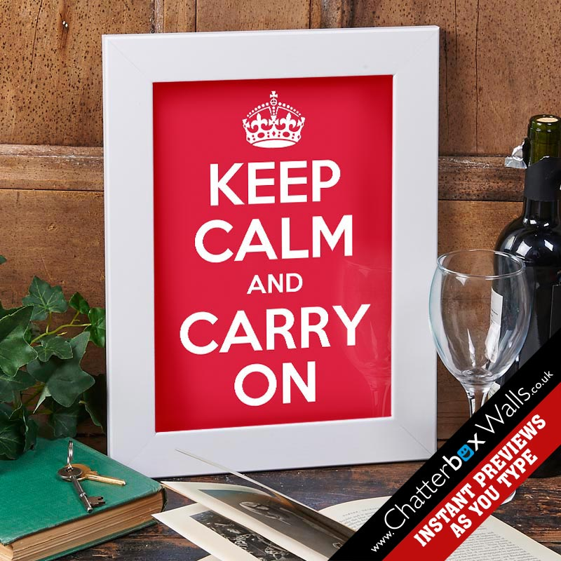 Make your own Keep Calm Poster