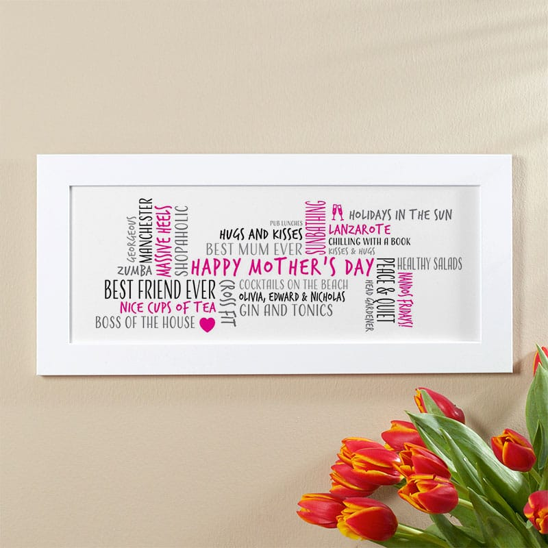 mothers day gift word picture