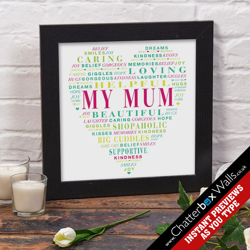 Personalized-gifts-for-Mum-word-art-prints-posters-canvases