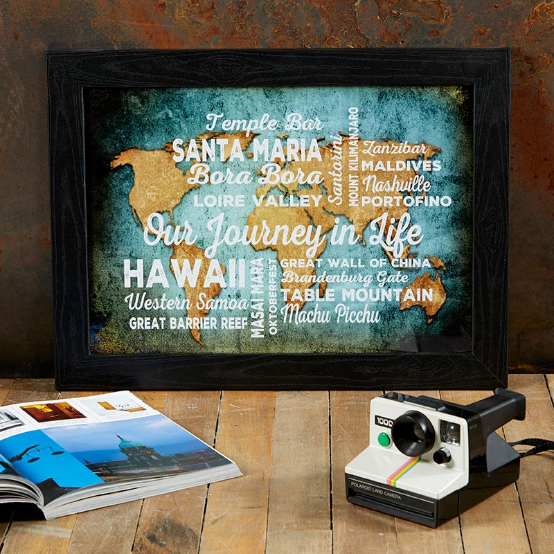 Personalized world atlas map print or canvas chatterbox walls gumiabroncs Images