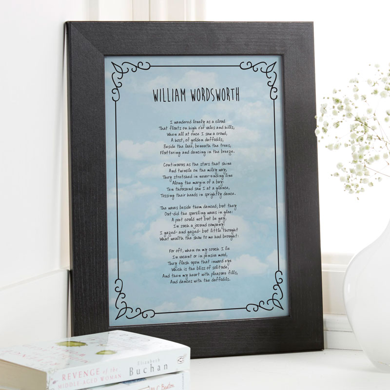 Personalized Poem or Verse Prints Canvases Chatterbox Walls