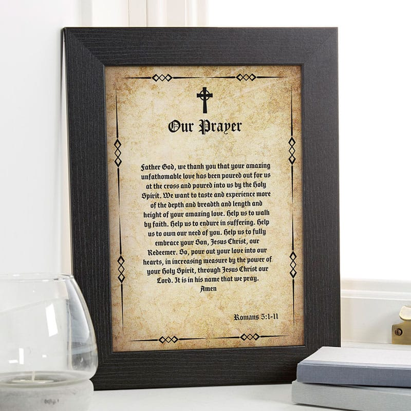 bible verse passage wall art personalized