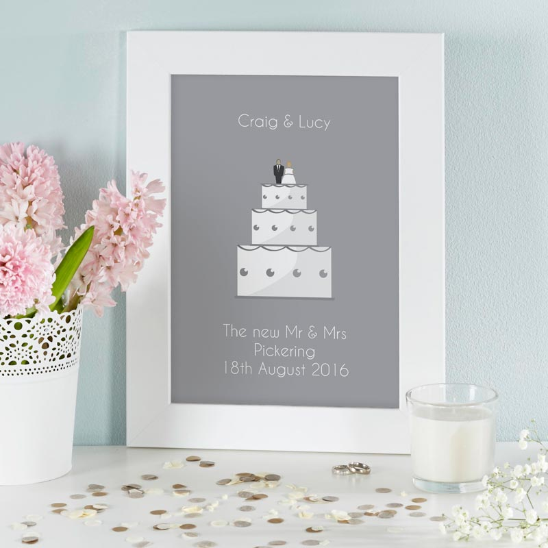 personalized wedding print