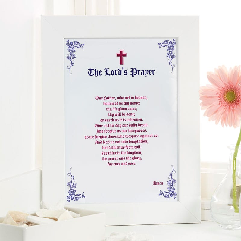 personalized prayer