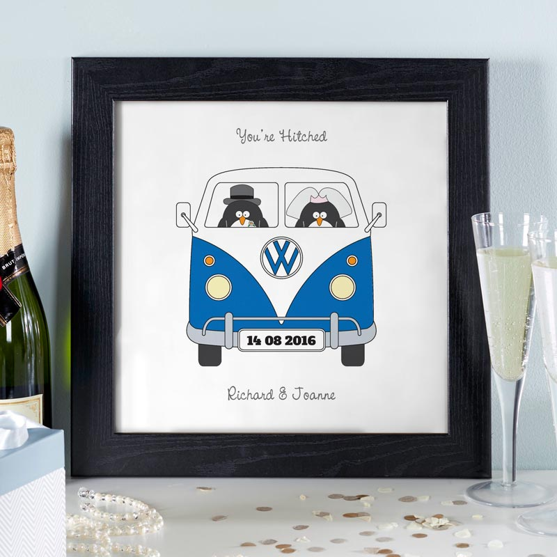 personalized wedding gift couples print